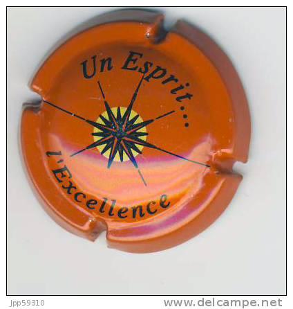 """Plaque De Muselet  """" Un Esprit ... L'Excellence""""* - Non Classés"""