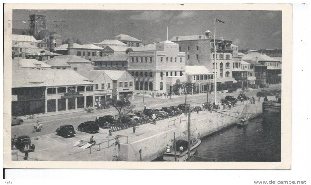 BERMUDES - Maisons De Corail - Carte Postale 18 X 10.5 Cm - Bermudes