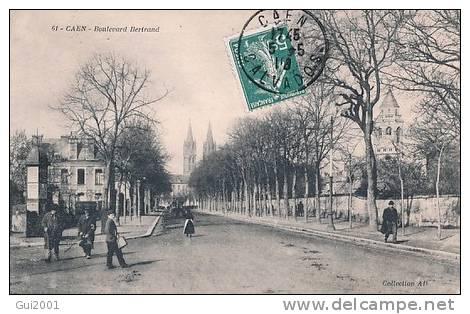 CAEN (14) BOULEVARD BERTRAND - Caen