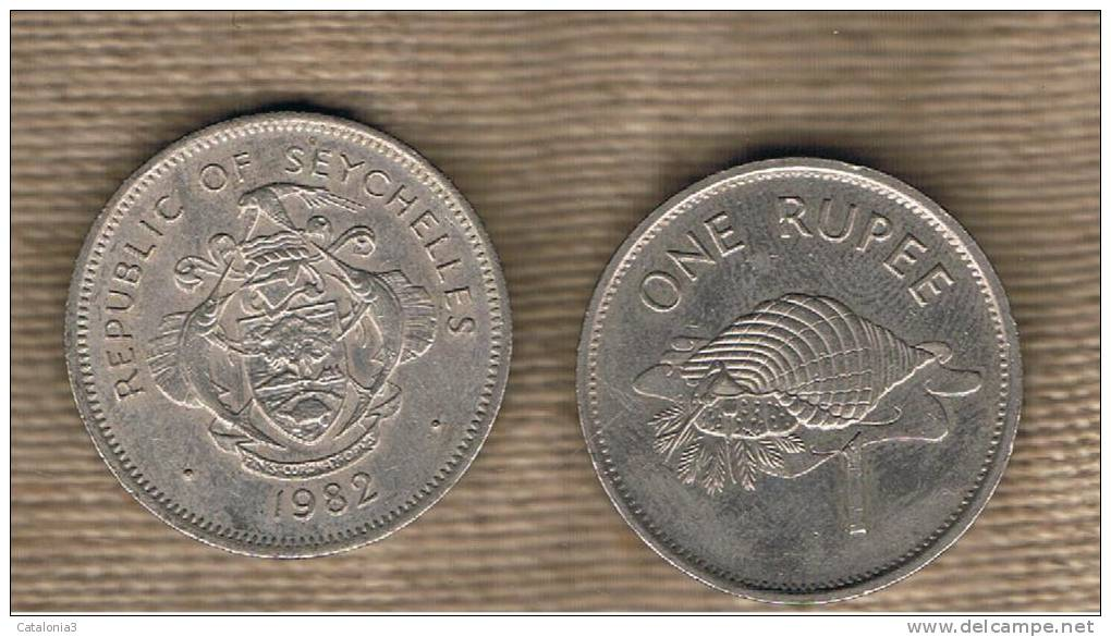 SEYCHELLES - 1 Rupia 1982  KM50.1 - Seychelles