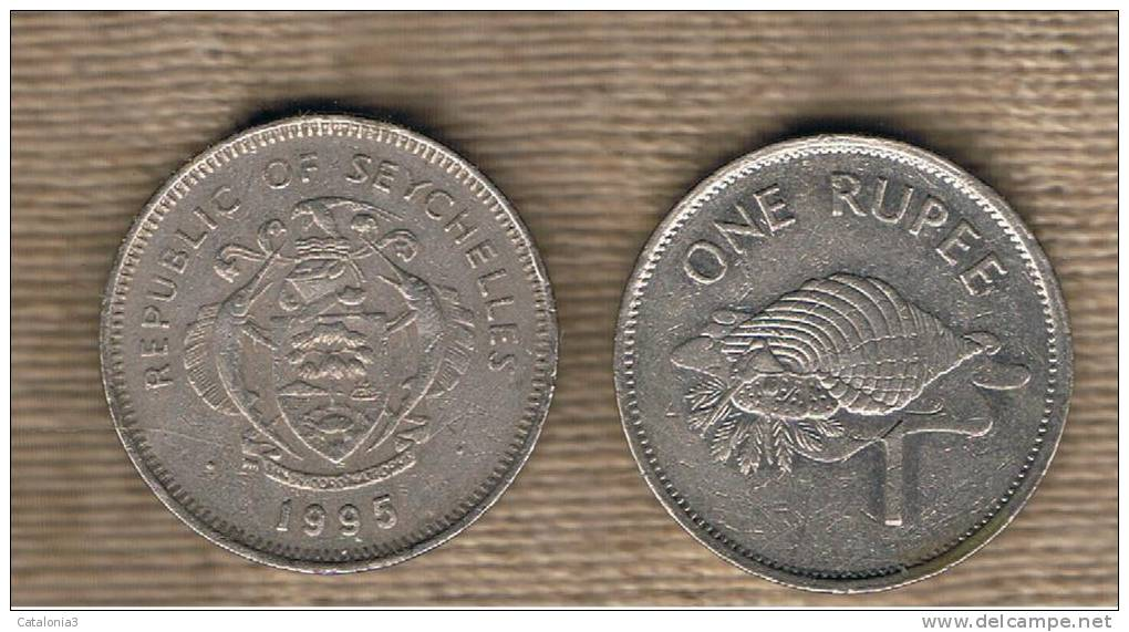 SEYCHELLES - 1 Rupia 1995  KM50.2 - Seychelles