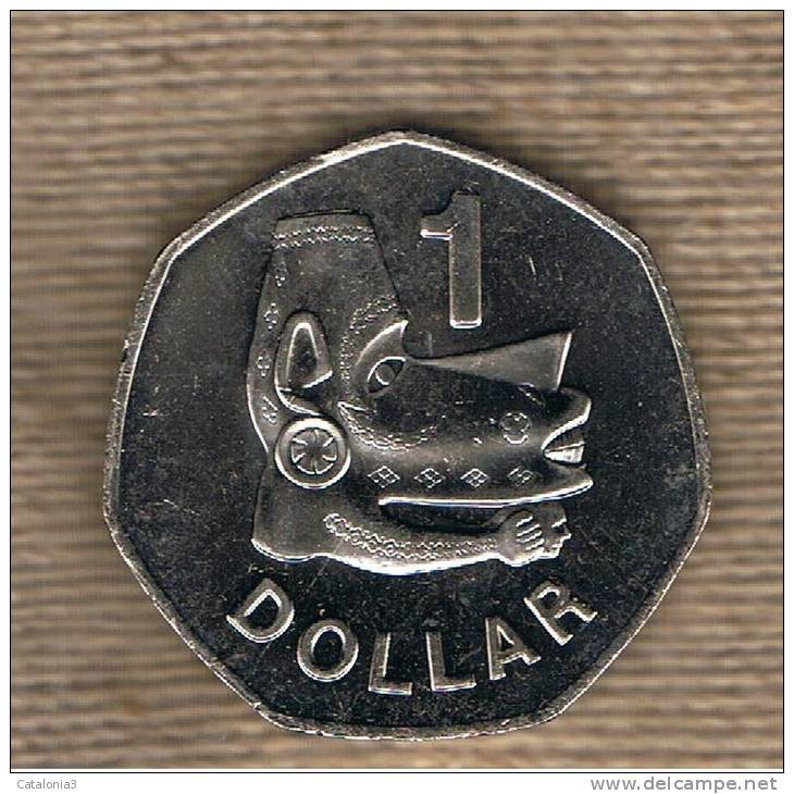 SOLOMON Islas -  1 Dolar 2005  KM72 - Colonies