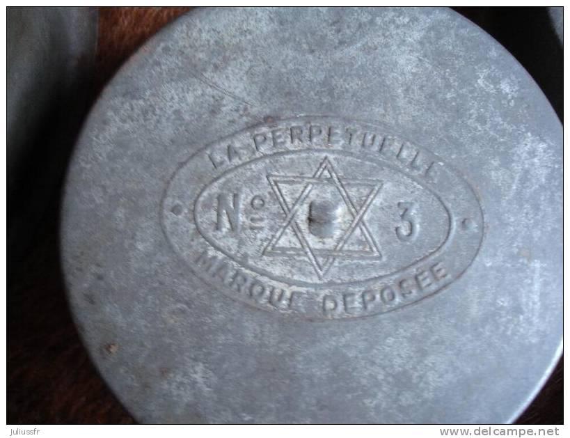Lot De 3 Gamelles Poilu La Perpétuelle - 1914-18