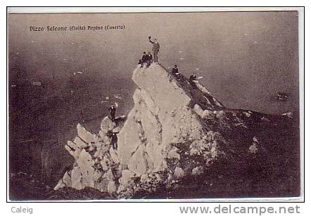 Arpino Ex Prov.Caserta - Rara Cartolina Pizzo Falcone Usata 1913 - Autres Villes