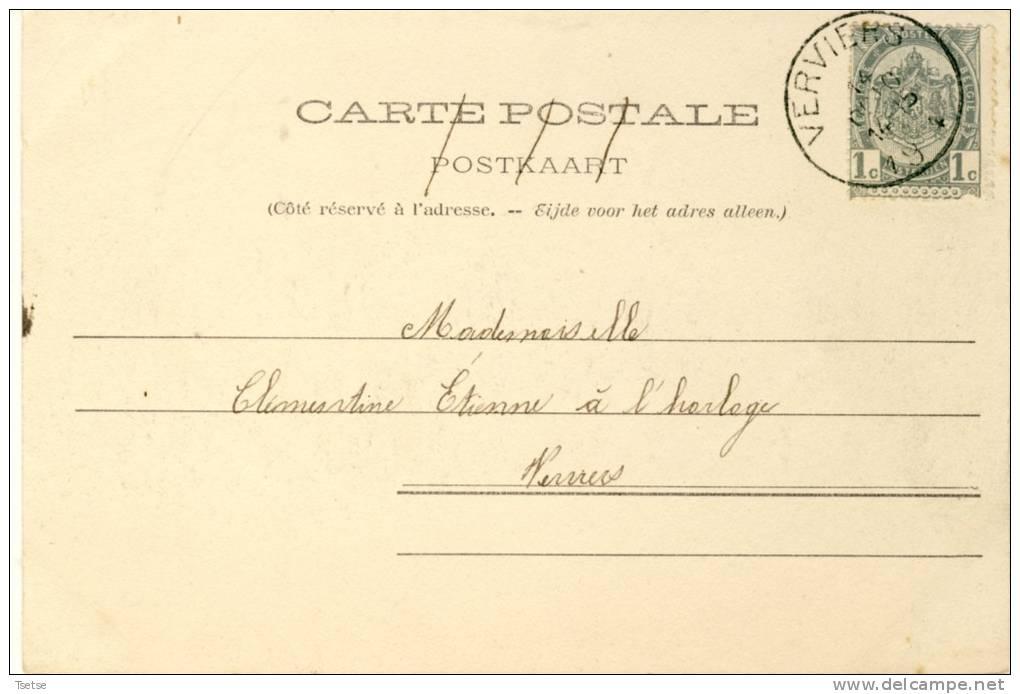 Verviers - Maison Du Peuple - 1904 ( Voir Verso ) - Verviers