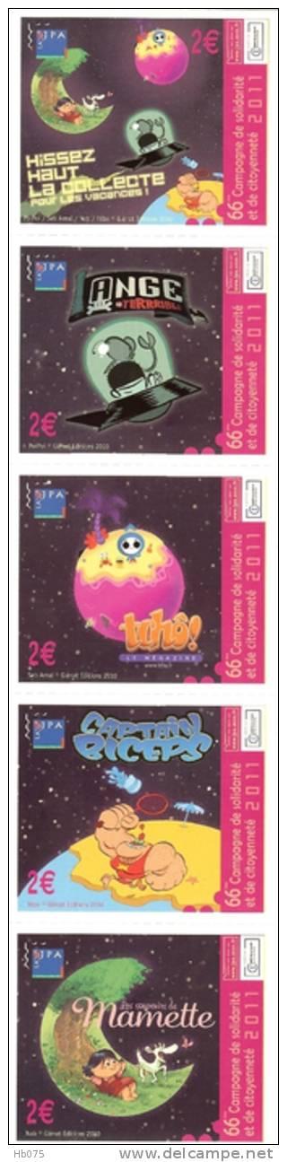 HB-A 001 Série D'autocollants JPA 2011 - Stickers