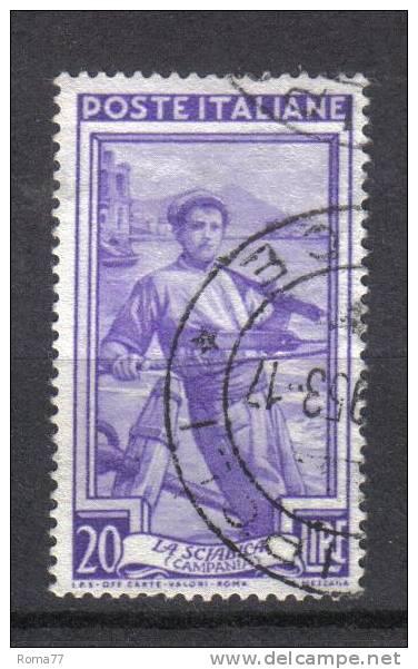 R844 - REPUBBLICA , 20 Lire Lavoro Fil Ruota IIIa Sinistra Bassa Used - 6. 1946-.. Repubblica