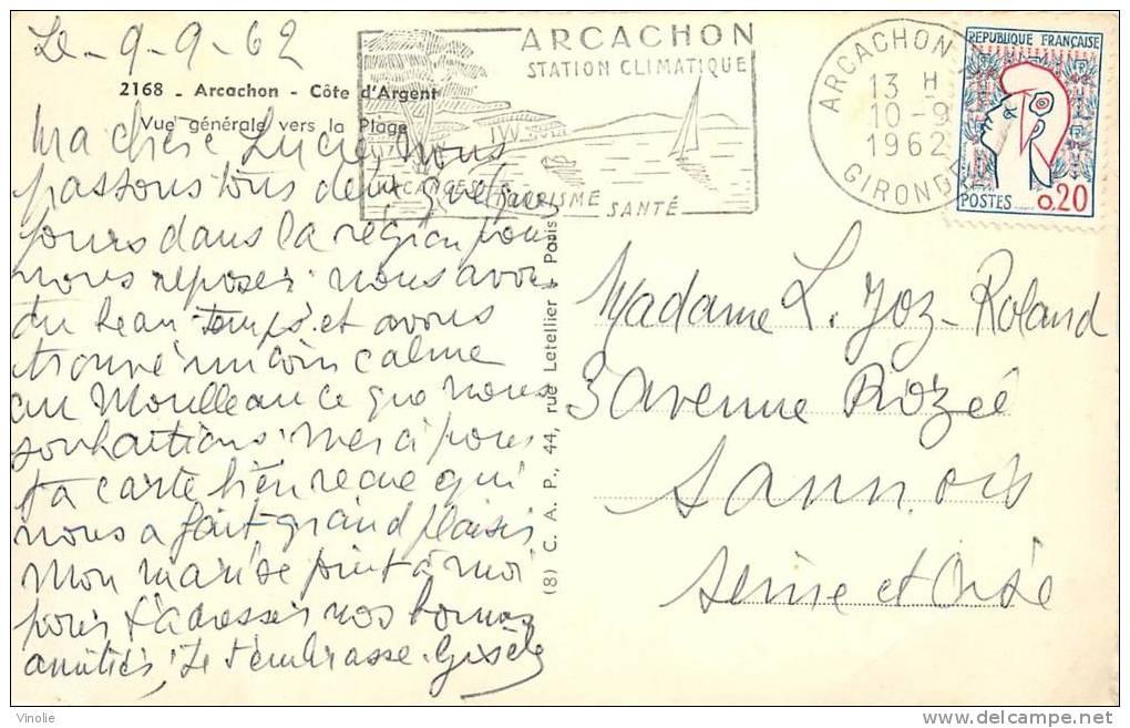 Réf : TO-13-402 :  Arcachon - Arcachon