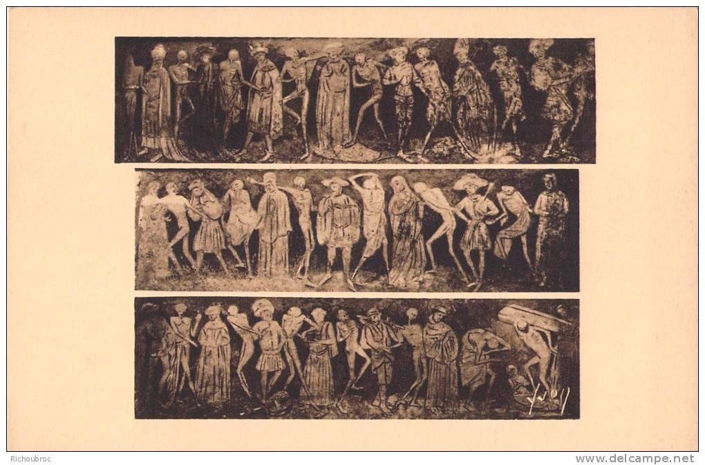 43 la chaise dieu l eglise peinture murale la danse for Chaise dieu danse macabre