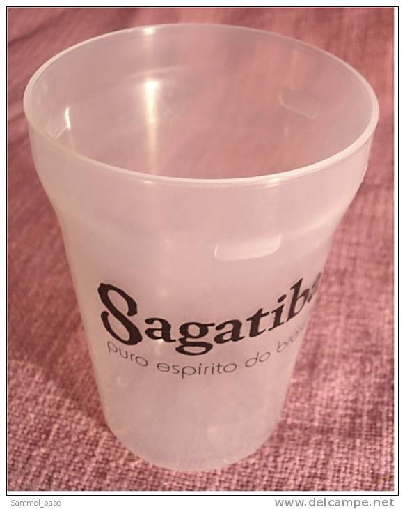 Sagatiba - Puro Espirito Do Brasil - Becher Aus Kunststoff  - Ca. 0,25 Lt. - Gläser
