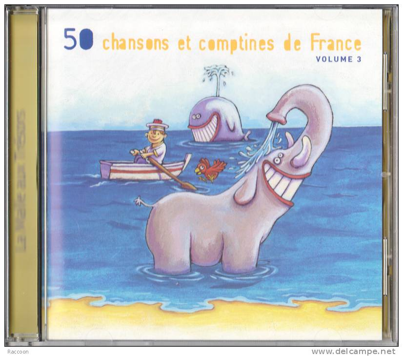 50 French Children Songs / Nursery Rhymes  Vol 3 - Children