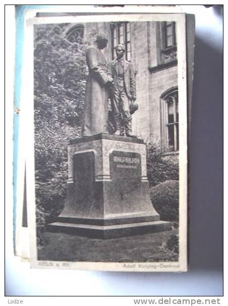 Duitsland Deutschland Allemagne Germany NRW Köln Denkmal Adolf Kolping - Köln