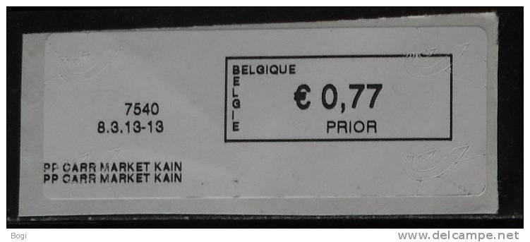 België 2013 PP Carr Market Kain 7540 - Nieuw Logo Bpost (fragment) - Vignettes D'affranchissement