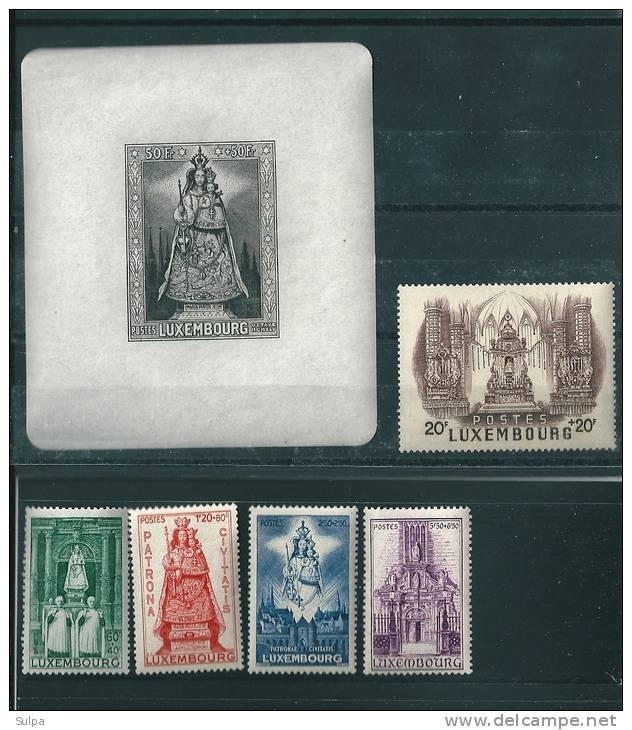 Luxembourg, Madone  Patrone De Luxembourg - Unused Stamps