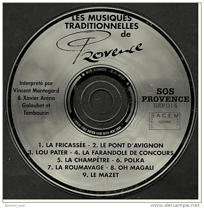 Musik CD  -  Les Musiques Traditionnelles De Provence - Interprete Par Vincent Montagard & Xavier Arena -  Von Ca. 2001 - Musik & Instrumente