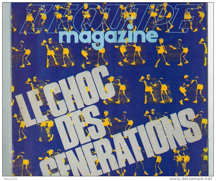 L´ EQUIPE MAGAZINE N° 169 Du 29 Octobre 1983 : FOOT PSG JUVE BOXE FICTION TREMBLAY VIEUX DU STADE CATCHEUSES RETRO - Sport