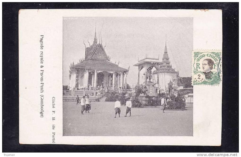 CB-02 CAMBODGE PAGODE ROYALE A PNOM-PENH - Cambodia