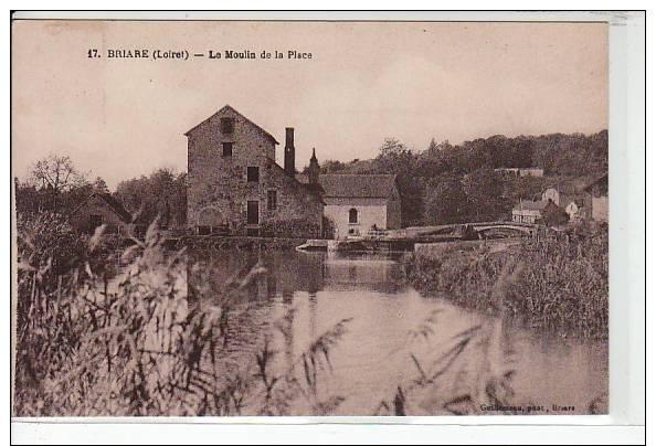 BRIARE - Le Moulin De La Place - Très Bon état - Briare