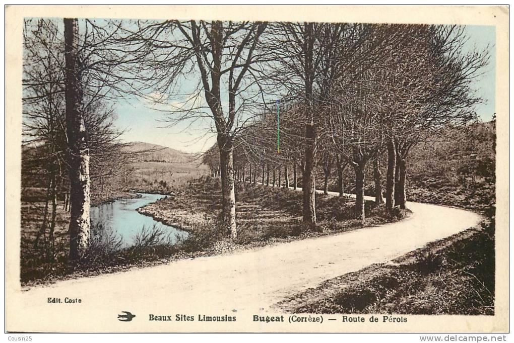 19 BUGEAT - Route De Pérois - Autres Communes
