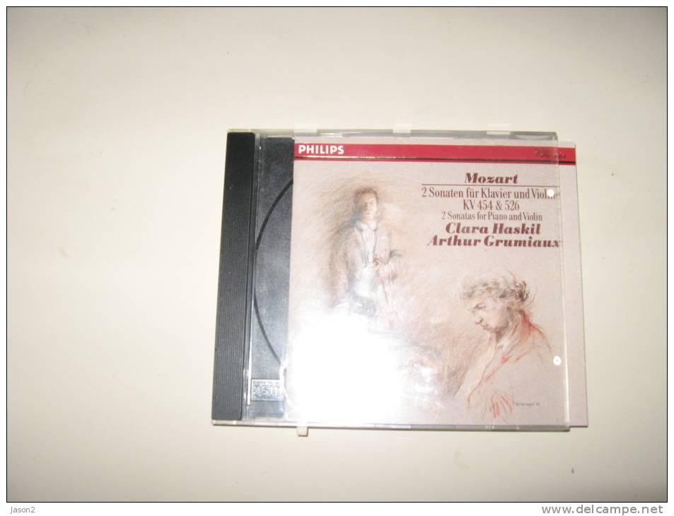 CD Philips MOZART 2 Sonates Pour Piano Et Violon CLARA HASKIL ARTHUR GRUMIAUX - Classique