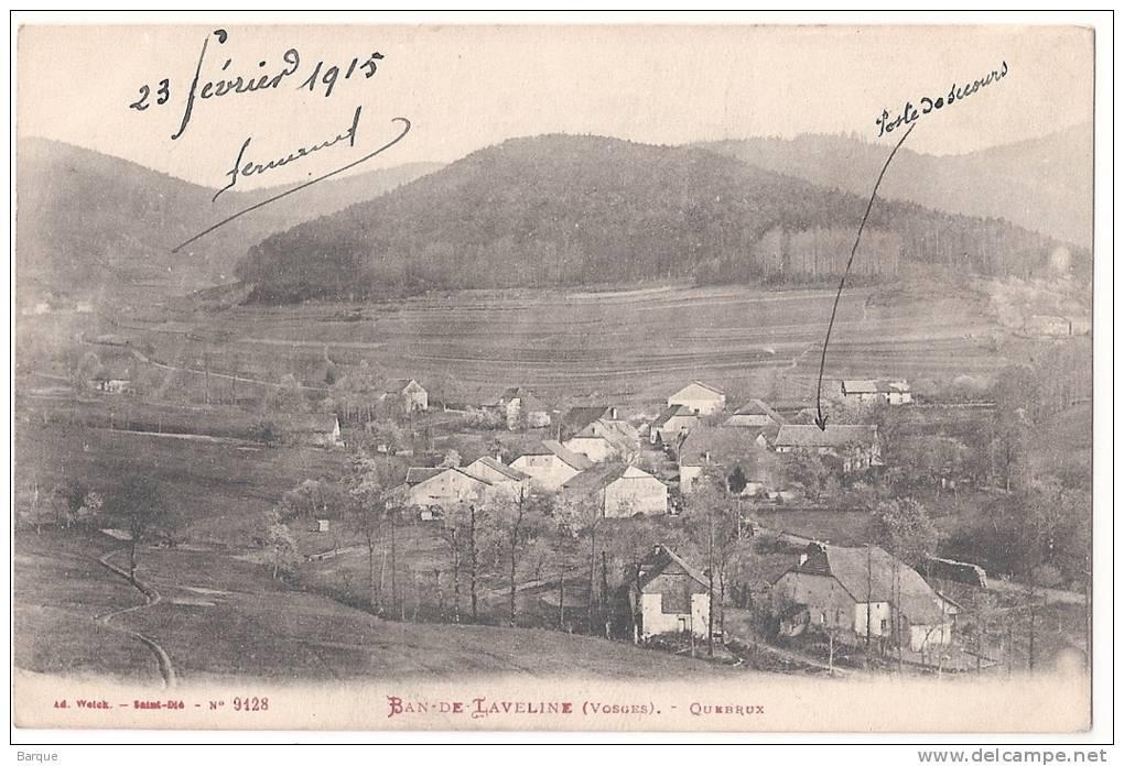 BAN DE LAVELINE .  QUEBRUX . Vue Generale . 1915 - France