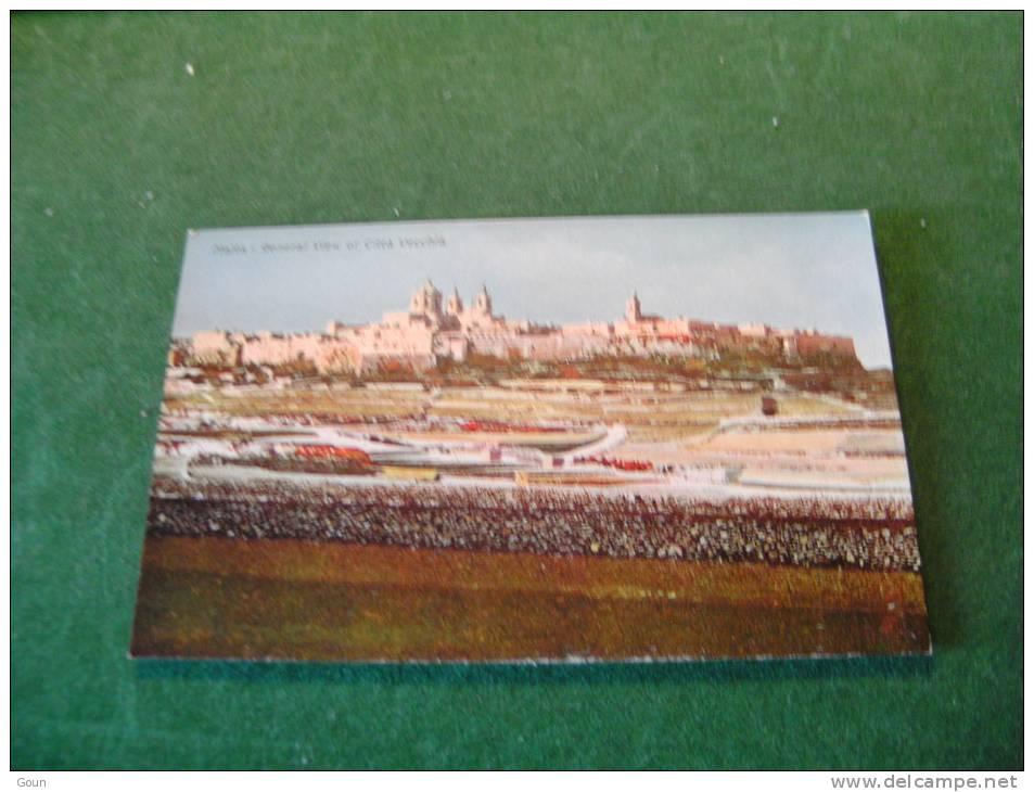 BC4-3-60 LC42 Malta General View Of Citta Vecchia - Malta