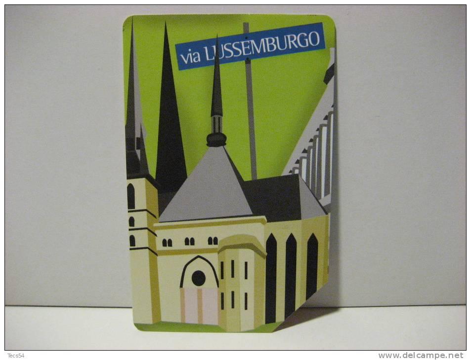 5 EX 1503 - CITTA´ DELL´EURO VIA LUSSEMBURGO - USATA PERFETTA G - Public Advertising