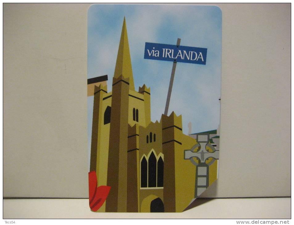 6 EX 1504 - CITTA´ DELL´EURO VIA IRLANDA - USATA PERFETTA G - Public Advertising