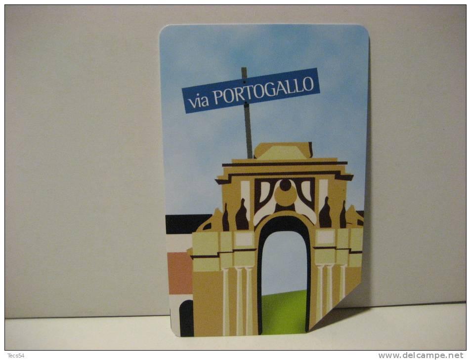 11 EX 1509 - CITTA´ DELL´EURO VIA PORTOGALLO - USATA PERFETTA G - Public Advertising