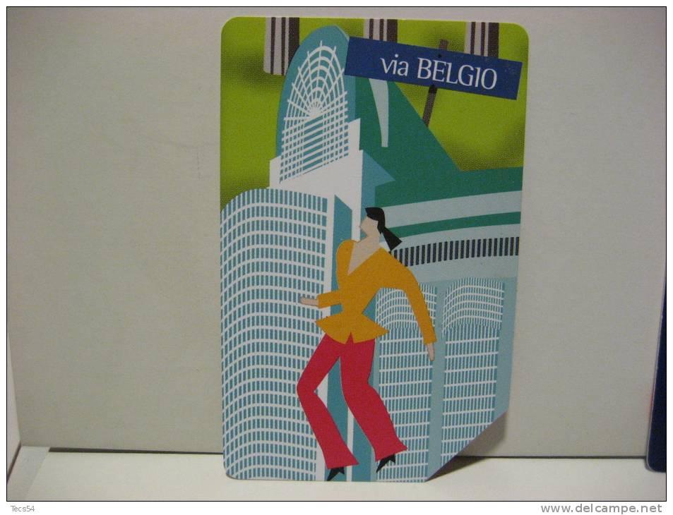 12 EX 1510 - CITTA´ DELL´EURO VIA BELGIO - USATA PERFETTA G - Public Advertising