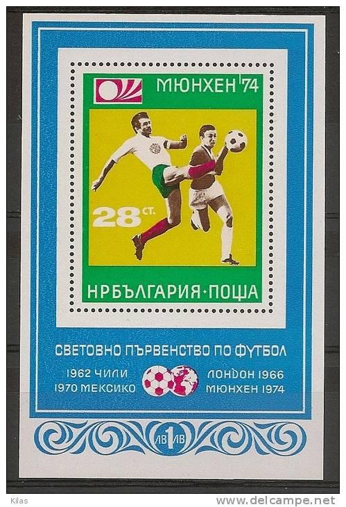 BULGARIA  Football W.C. Germany - Coppa Del Mondo