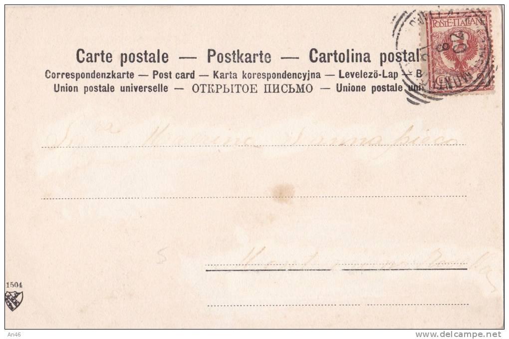 DONNA SDRAIATA SULL'  ERBA SERIE N. 1504  VG 1902 ILL. REUTLINGER AUTENTICA 100% - Illustrators & Photographers