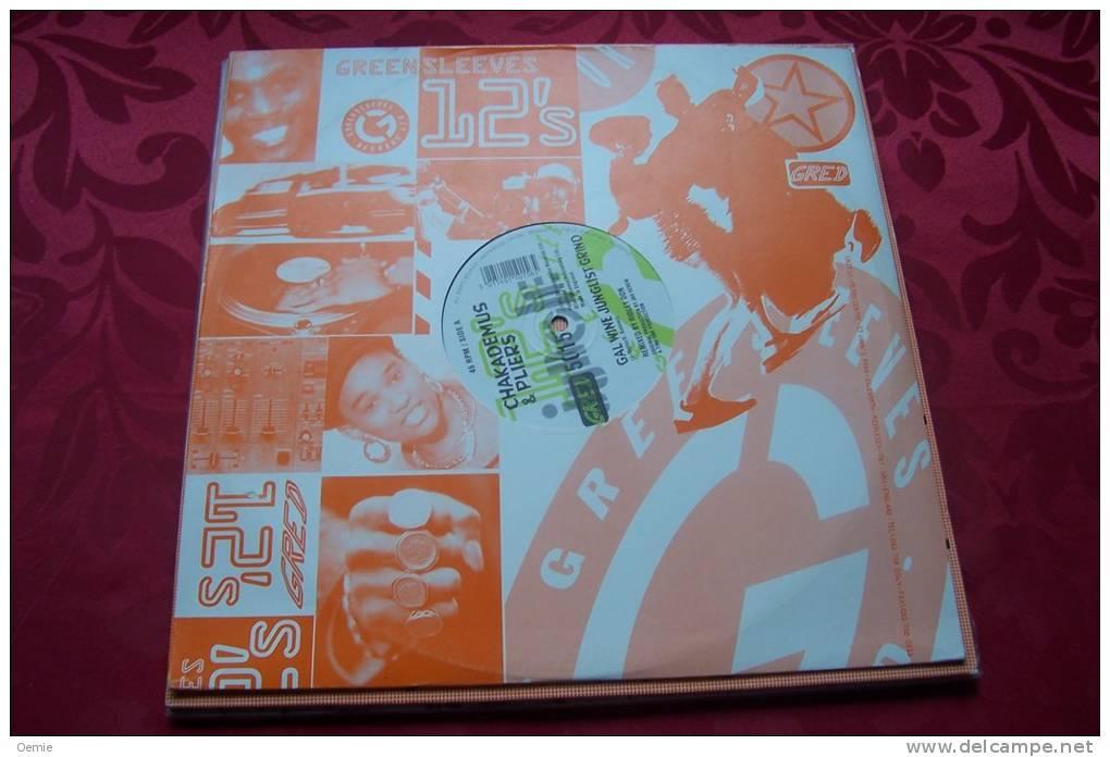 CHAKADEMUS  &  PLIERS  °  GALGRIND DRUM'N'BASS - 45 T - Maxi-Single