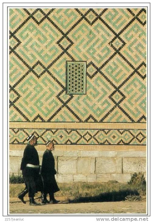 CPSM  Samarkand La Madrasa - Kirghizistan