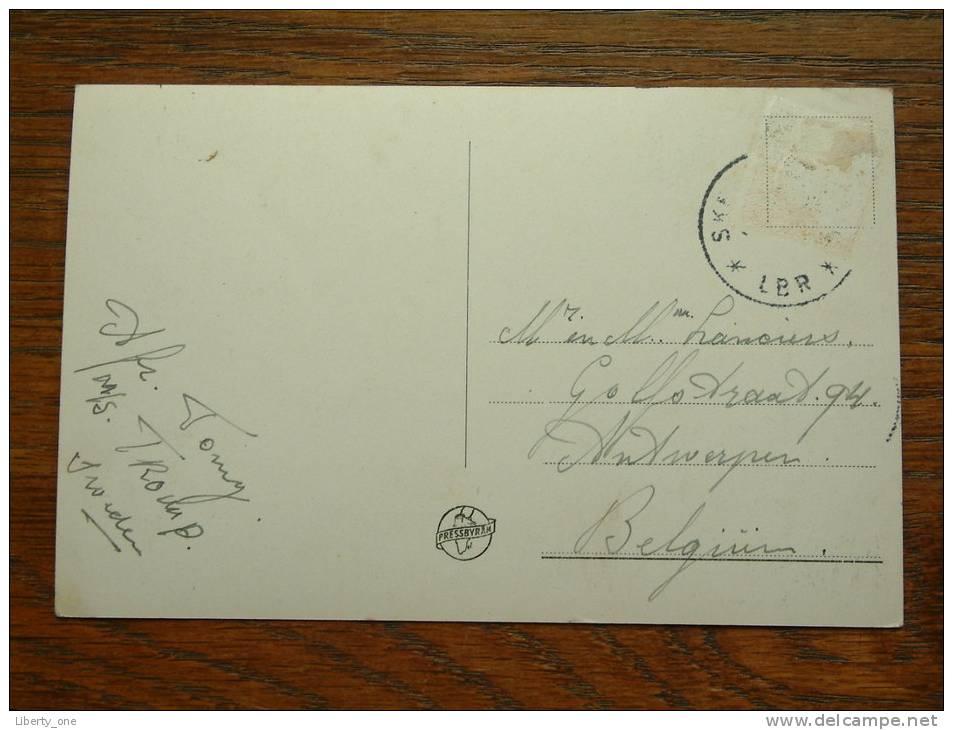 SKELLEFTEHAMN Rönnskär ( Verzonden MS Tromp ) / Anno +/- 1950 ( Zie Foto Voor Details ) !! - Suède