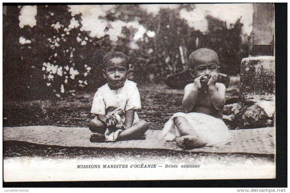 SAMOA - MISSIONS MARISTES D'OCEANIE - BEBES SAMOANS - Samoa