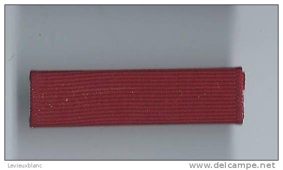 Barrette De Décoration/Origine à Identifier/ Vers 1980          BAR71 - Militaria