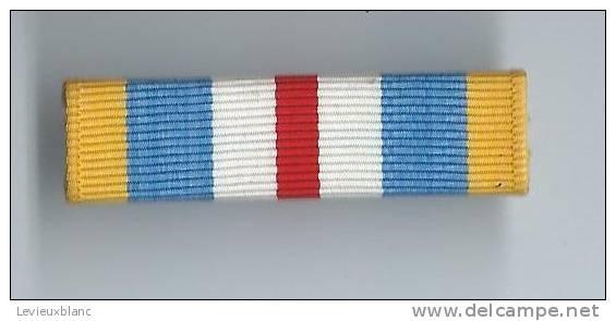 Barrette De Décoration/Origine à Identifier/ Vers 1980          BAR93 - Militaria