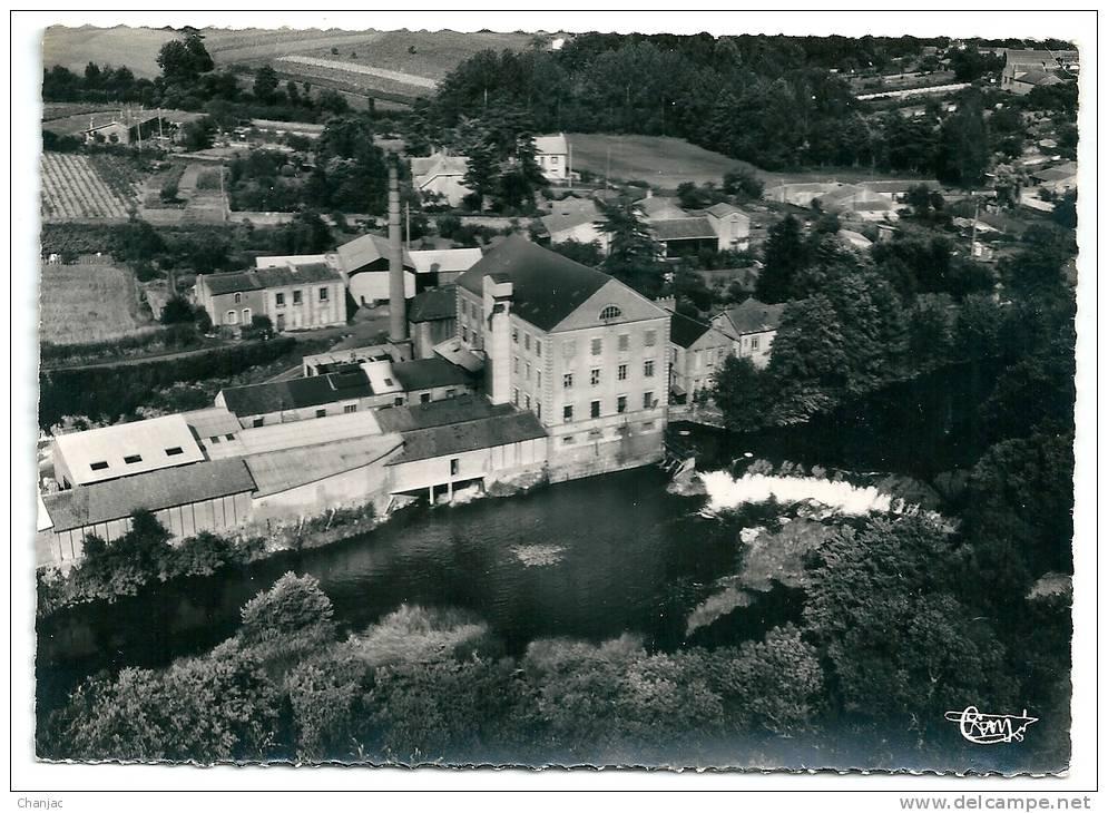 Cpsm: 44 GETIGNE (ar. Nantes) Tanneries De Gaumier (Vue Aérienne) 1967  N° 100.53 A - France