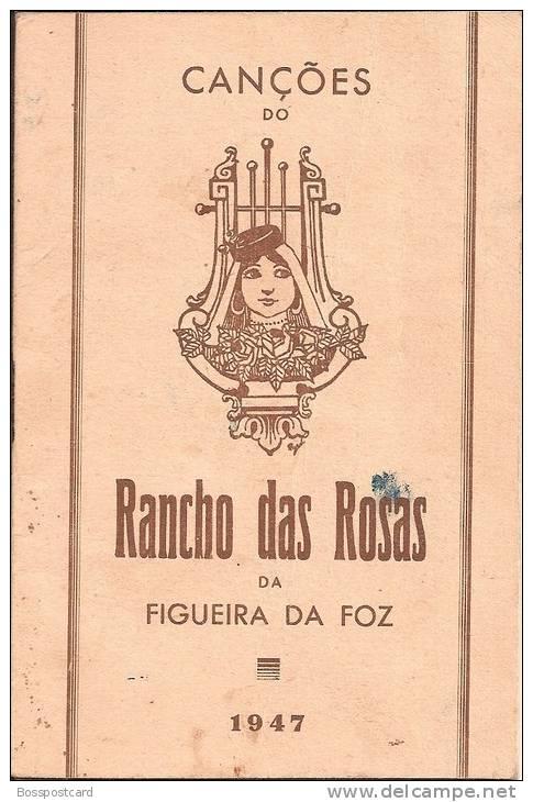 Figueira Da Foz - Canções Do Rancho Das Rosas, 1947. Coimbra (3 Scans) - Poëzie