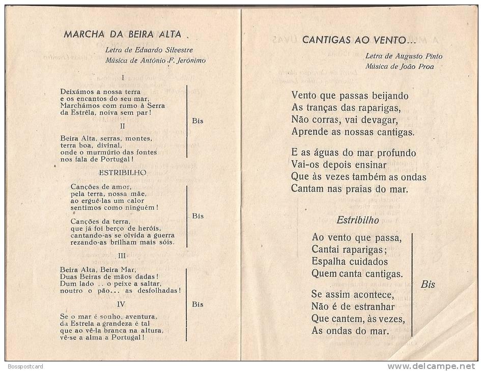 Figueira Da Foz - Canções Do Rancho Das Rosas, 1947. Coimbra (3 Scans) - Boeken, Tijdschriften, Stripverhalen