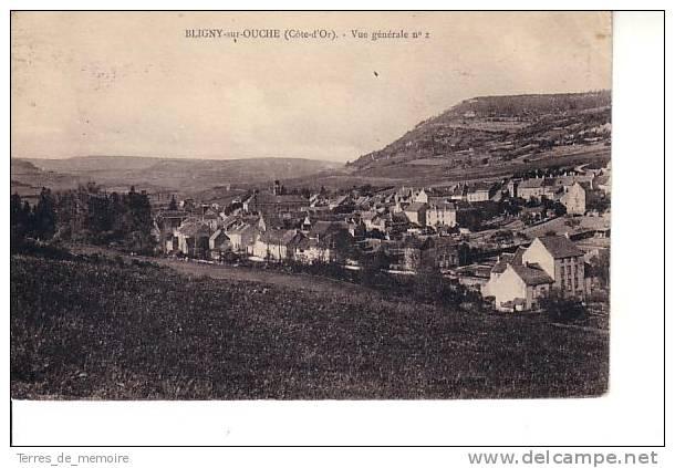 Bligny Sur Ouche : Vue Générale N°2 (Nom D'éditeur Illisible) - Autres Communes