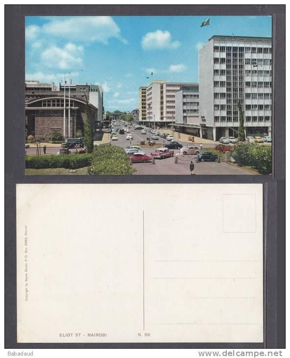 KENYA, NAIROBI - ELIOT STREET, 1950s,  Sapra Studios (Publisher) - Kenya
