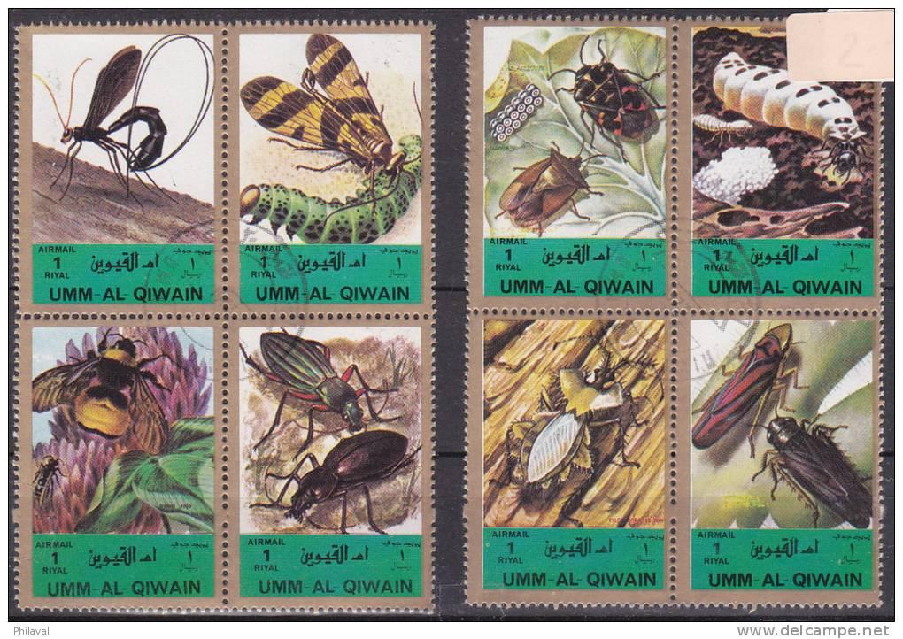 Insectes : 2 Blocs De 4 Timbres - Autres
