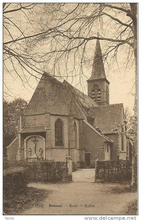 Bouwel  - Kerk -1935 ( Verso Zien ) - Grobbendonk