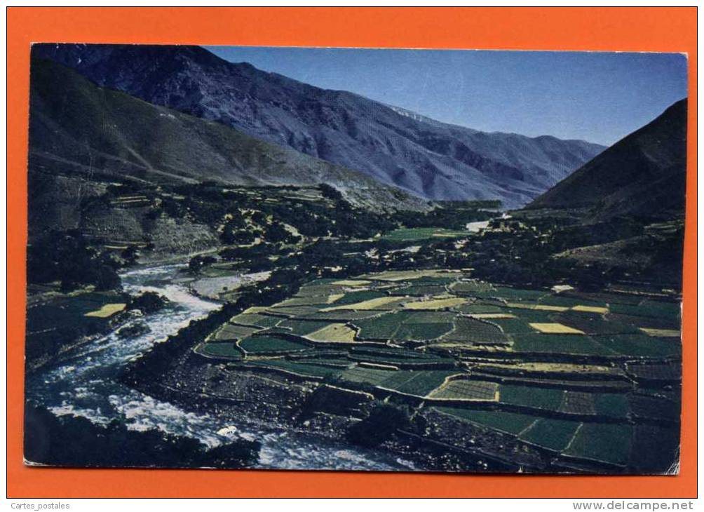 The Lovely Valley Of Panjsher In The Province Of KABUL  KABOUL - Afghanistan