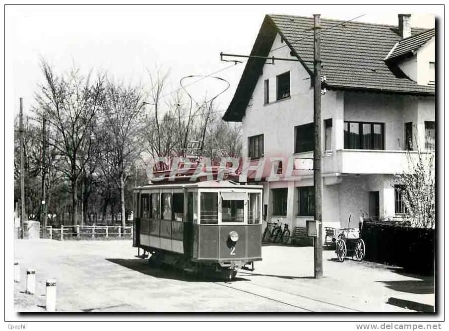 CPM Tram Ce 2 2 2 Au Der Linie Heerbrugg Diepoldsau - Eisenbahnen