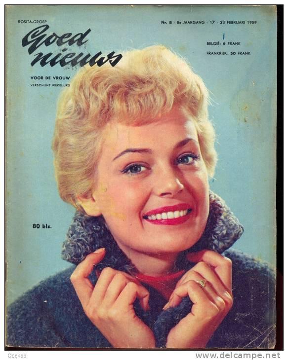 Tijdschrift goed nieuws voor de vrouw 23 feb 1959 - Deur tijdschrift nieuws ...