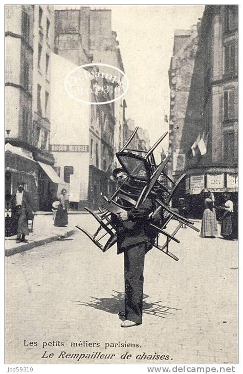 Le Rempailleur De Chaises* - Métiers