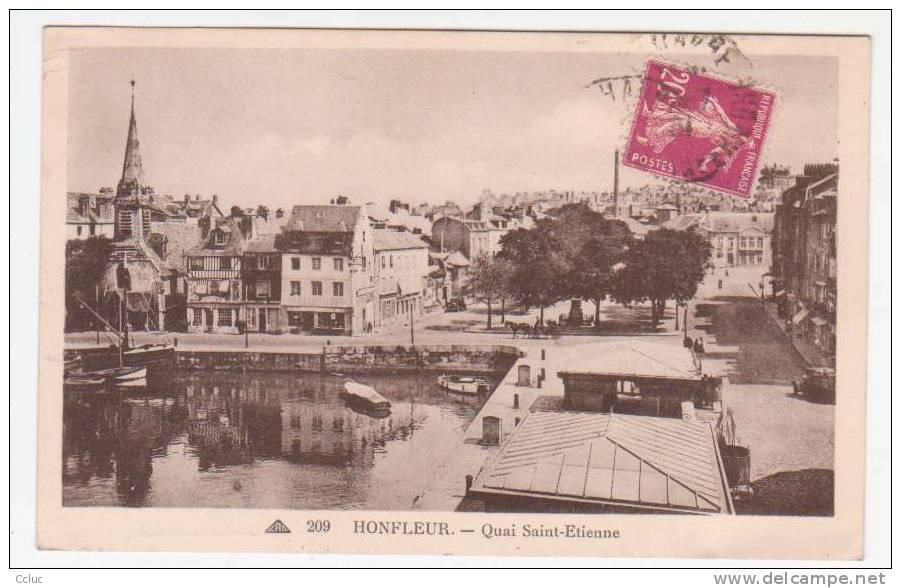 14 - HONFLEUR - Quai Saint Etienne - Honfleur